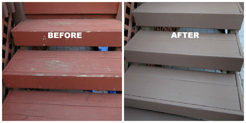 5 things we realize from repainting deck beauteeful living for Behr deckover