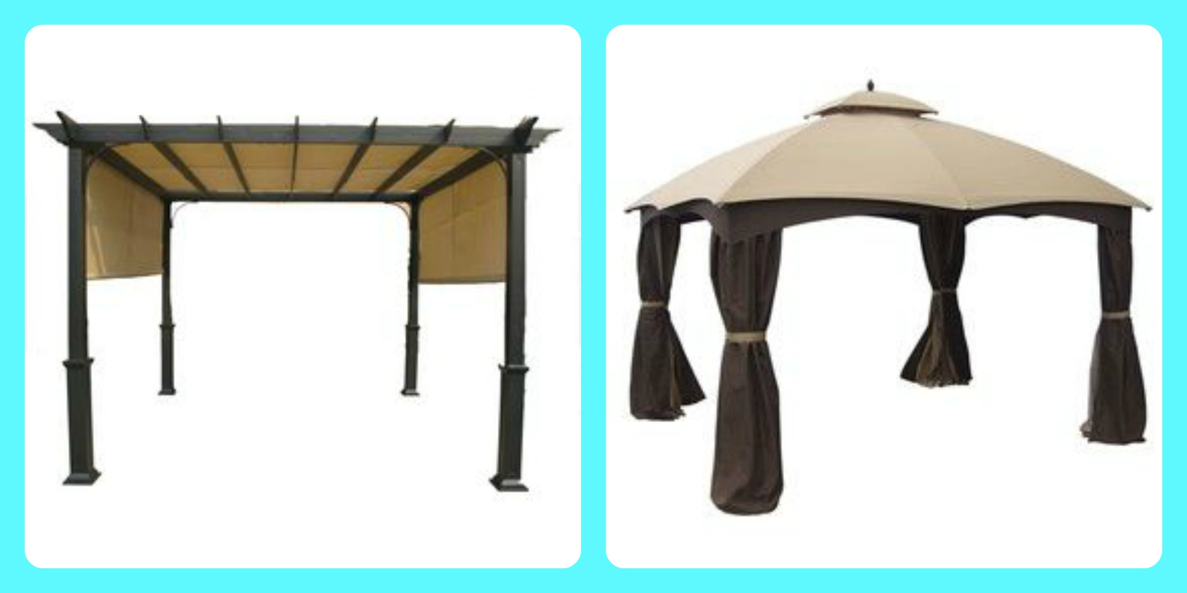 Backyard Canopy Lowes : XVON  Image  lowes pergola canopies
