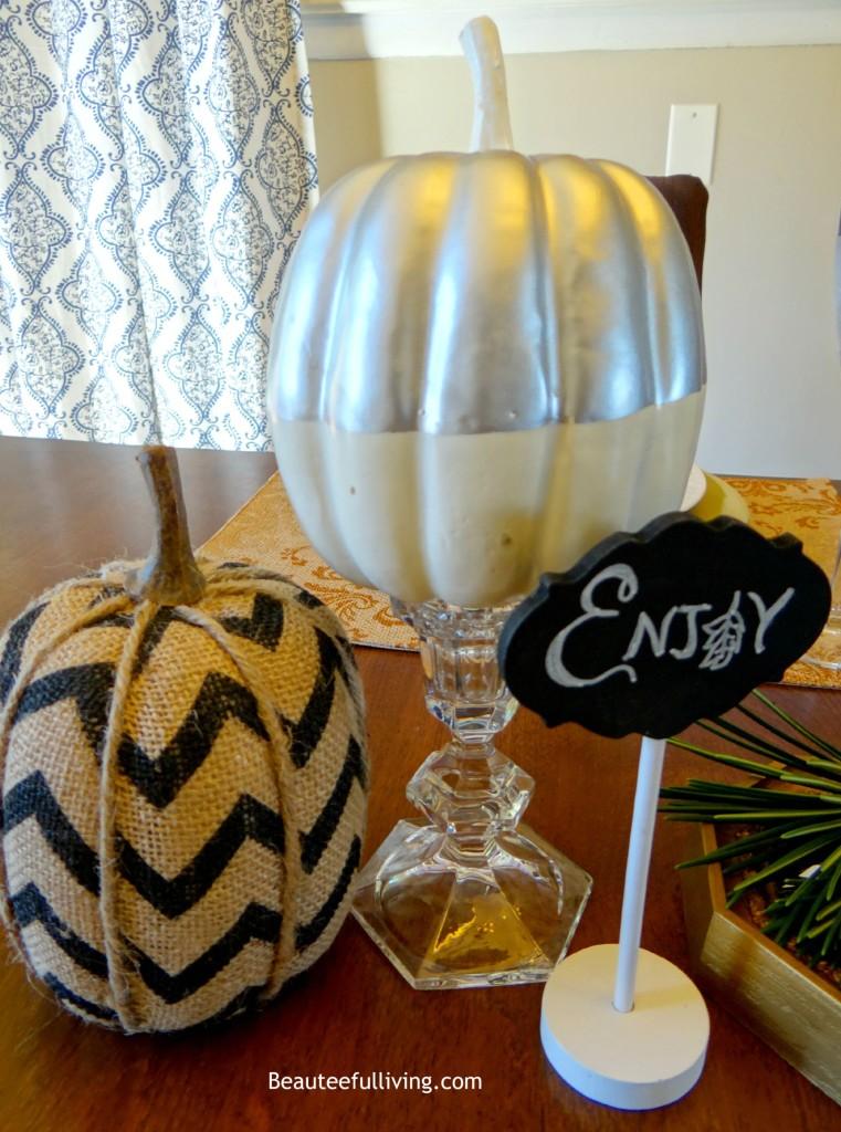 Decorative Pumpkins - Beauteeful Living