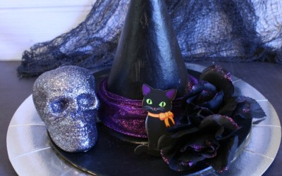 Guest Post – Momma Lew – Spooky Table Centerpiece