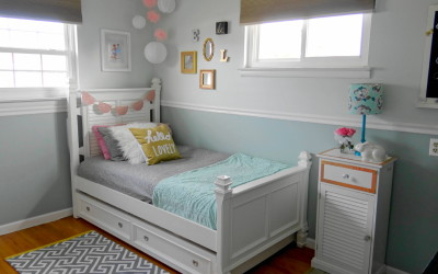 Girls Room Makeover Final Reveal – One Room Challenge