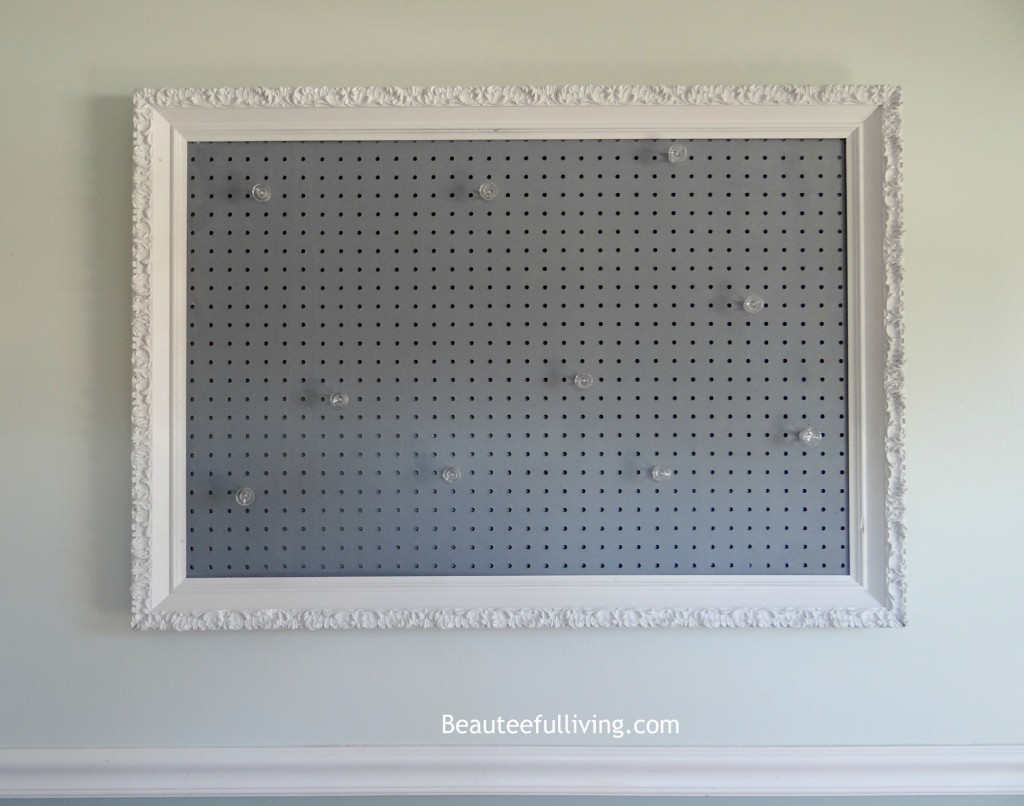 Jewelry Pegboard Diy Beauteeful Living